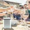 Flexcube Bluetooth Lautsprecher im Sommer